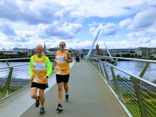 Ian Orr of Browns Bonds Hill to run Waterside Half Marathon for charity
